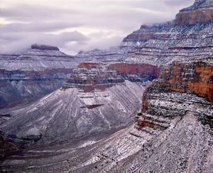 Grand Canyon, Arizona in Winter