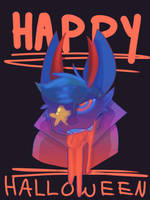 HAVE A HAPPY HALLOWEEN YOU BASTARD by S4lNT