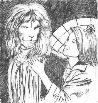 sketch Vincent and  Catherine