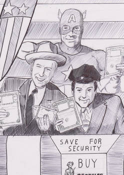 Abbott and Costello meet Captain America 2