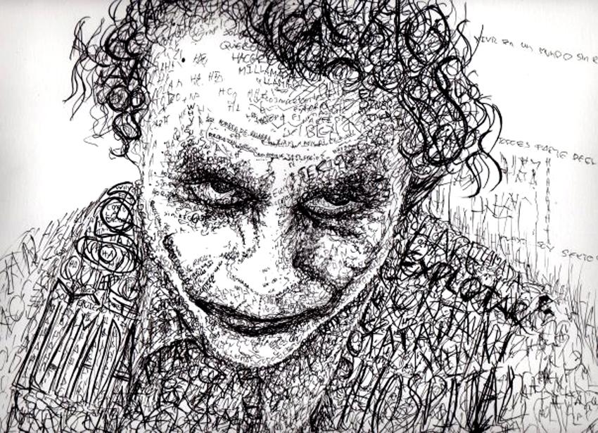 Joker - Guason Typography by Artcrack-Ilustracion