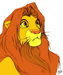 Simba - in color