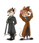 Mouse Detectives by murr-ma-ing