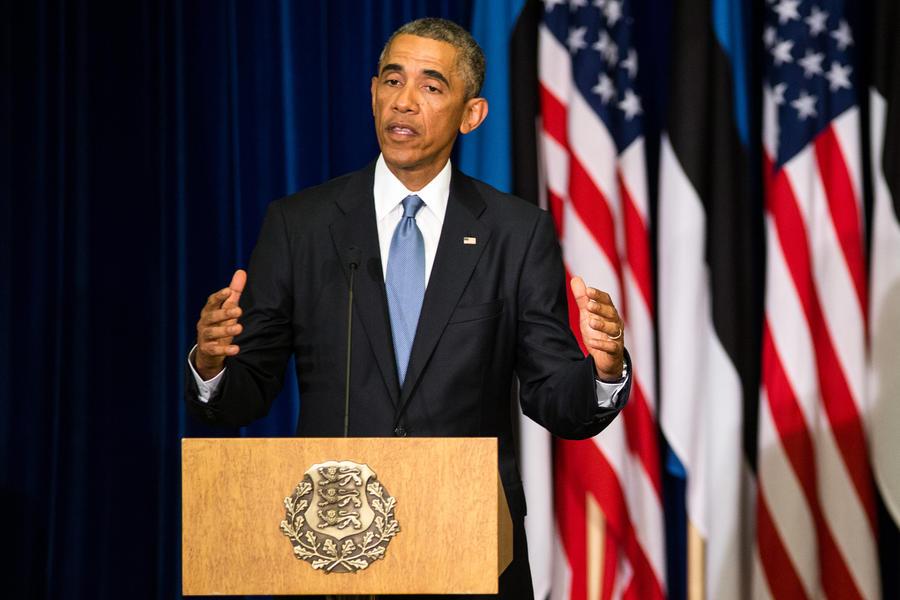 Barack Obama by valdna
