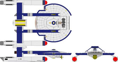 USS Akira CL-1988 USSF