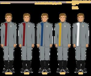 [Discovery] Starfleet 32nd Century Duty Uniforms