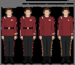 Star Trek - 'Monster Maroon' Uniforms (Evolution)