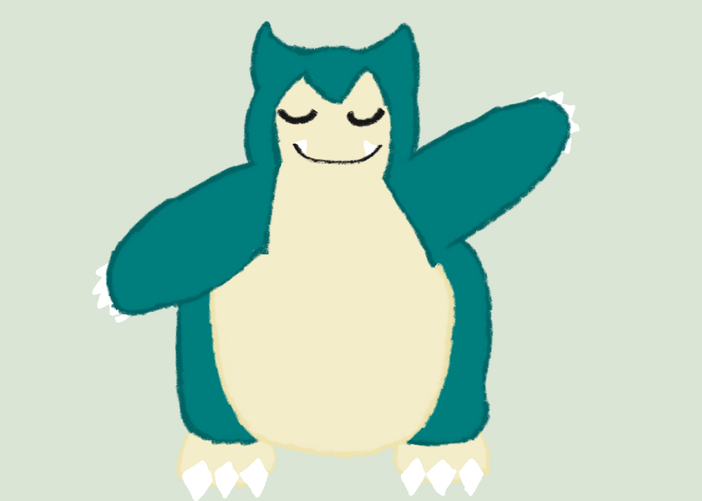 Pokemon 143 Snorlax 687000357