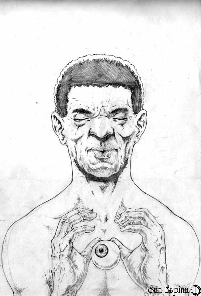 strange guy by santiagocomics