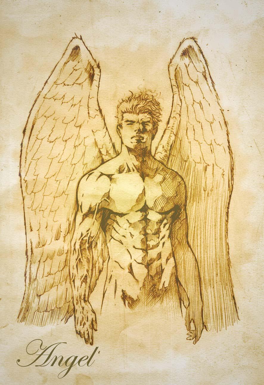 Angel by santiagocomics