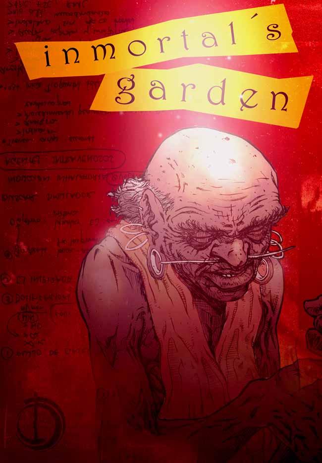 Inmortal s garden by santiagocomics