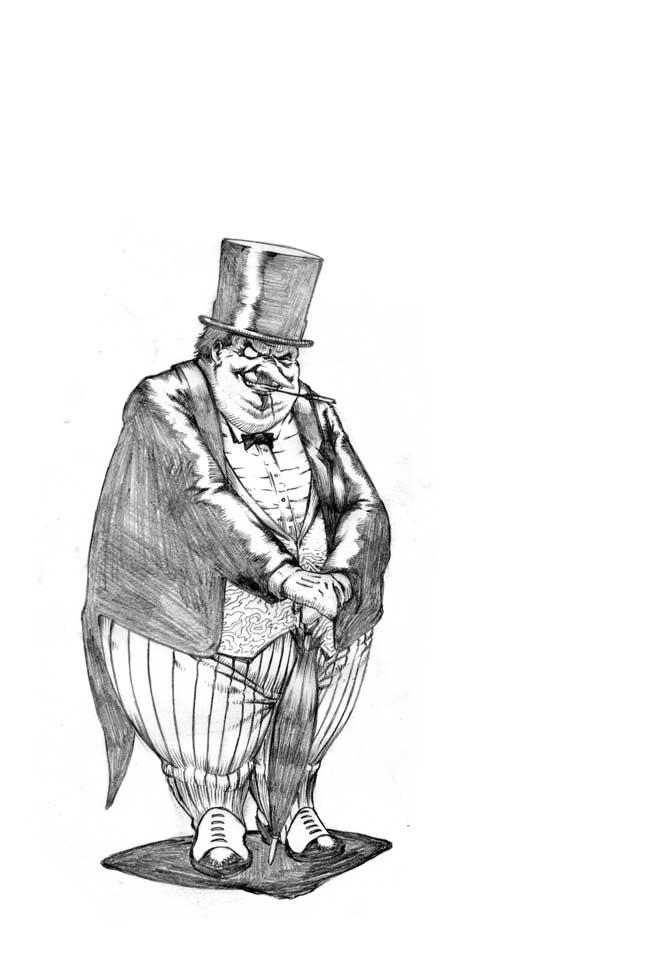Penguin by santiagocomics