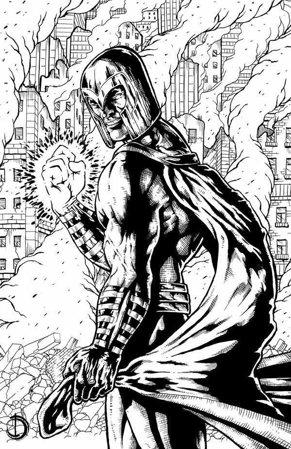 Magneto by santiagocomics