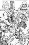 Thor page by santiagocomics