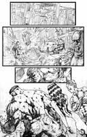 Thor page 2 by santiagocomics