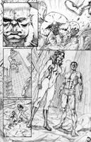 Thor page 3 by santiagocomics