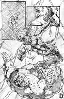 Thor page 4 by santiagocomics