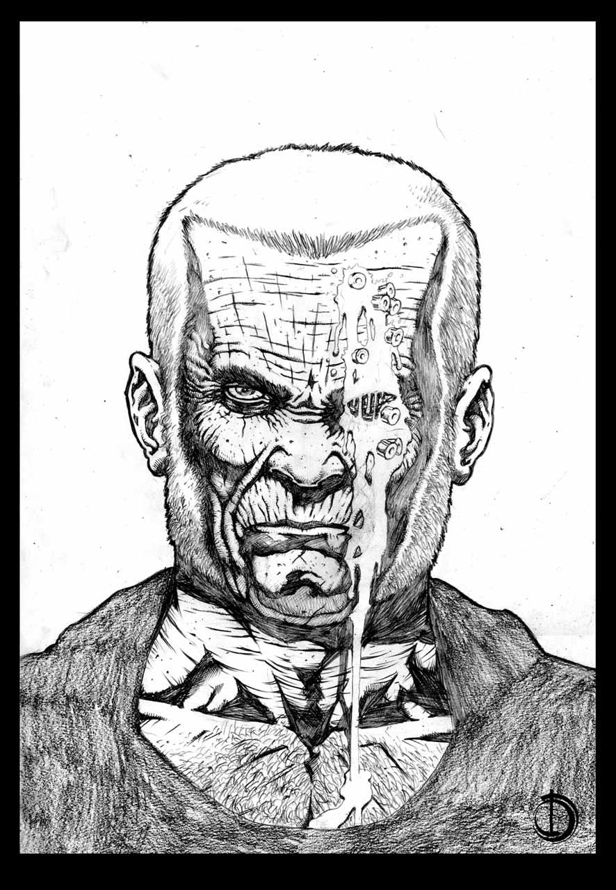Old Logan by santiagocomics