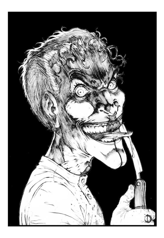 Mad Joker by santiagocomics