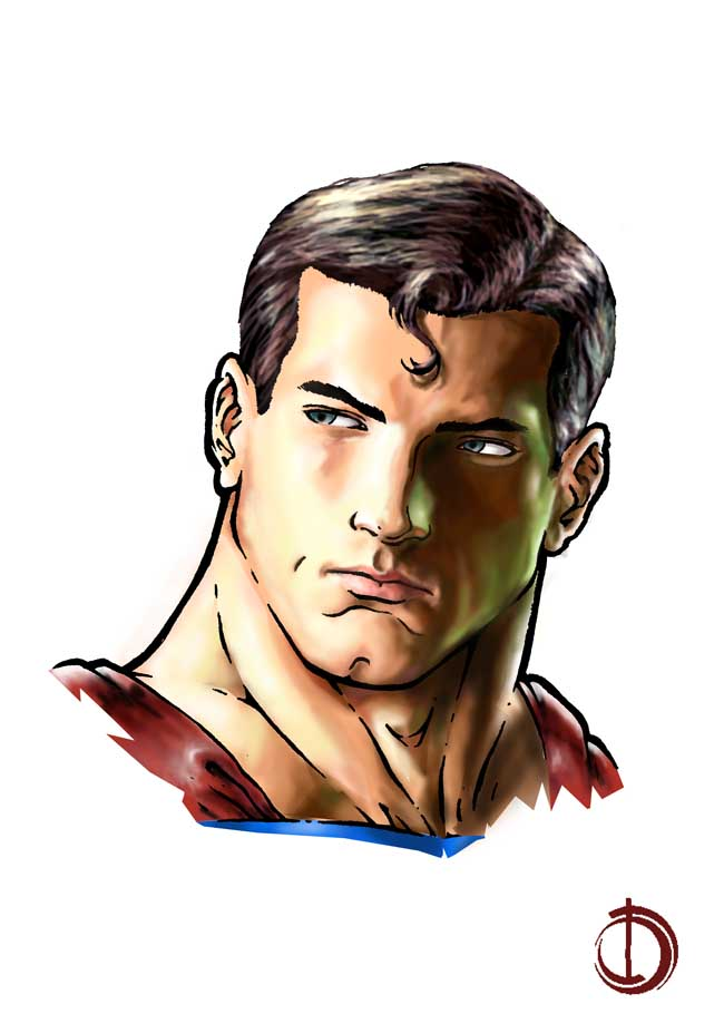 Superman by santiagocomics