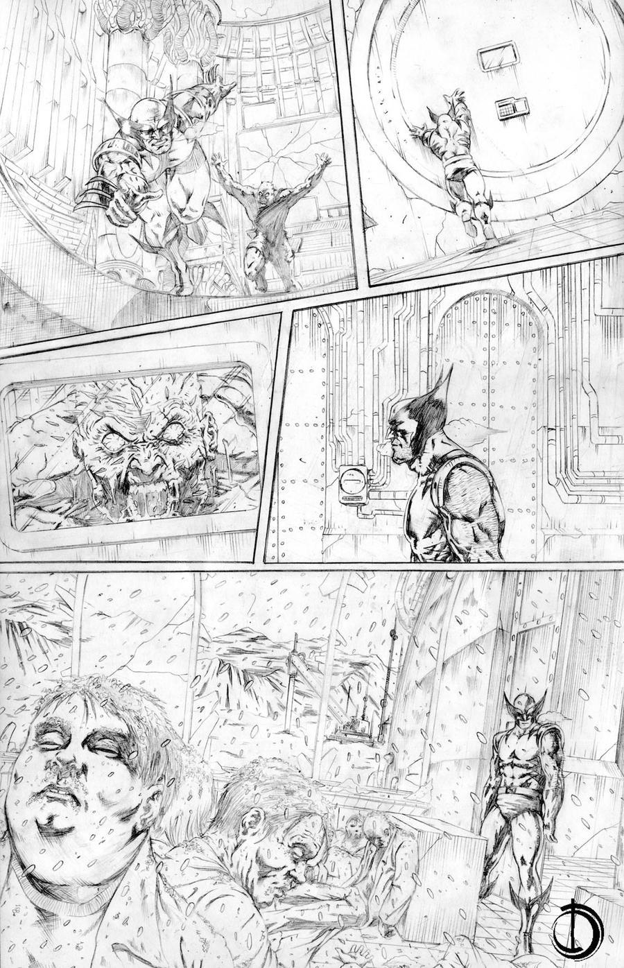 Wolverine page 6 by santiagocomics