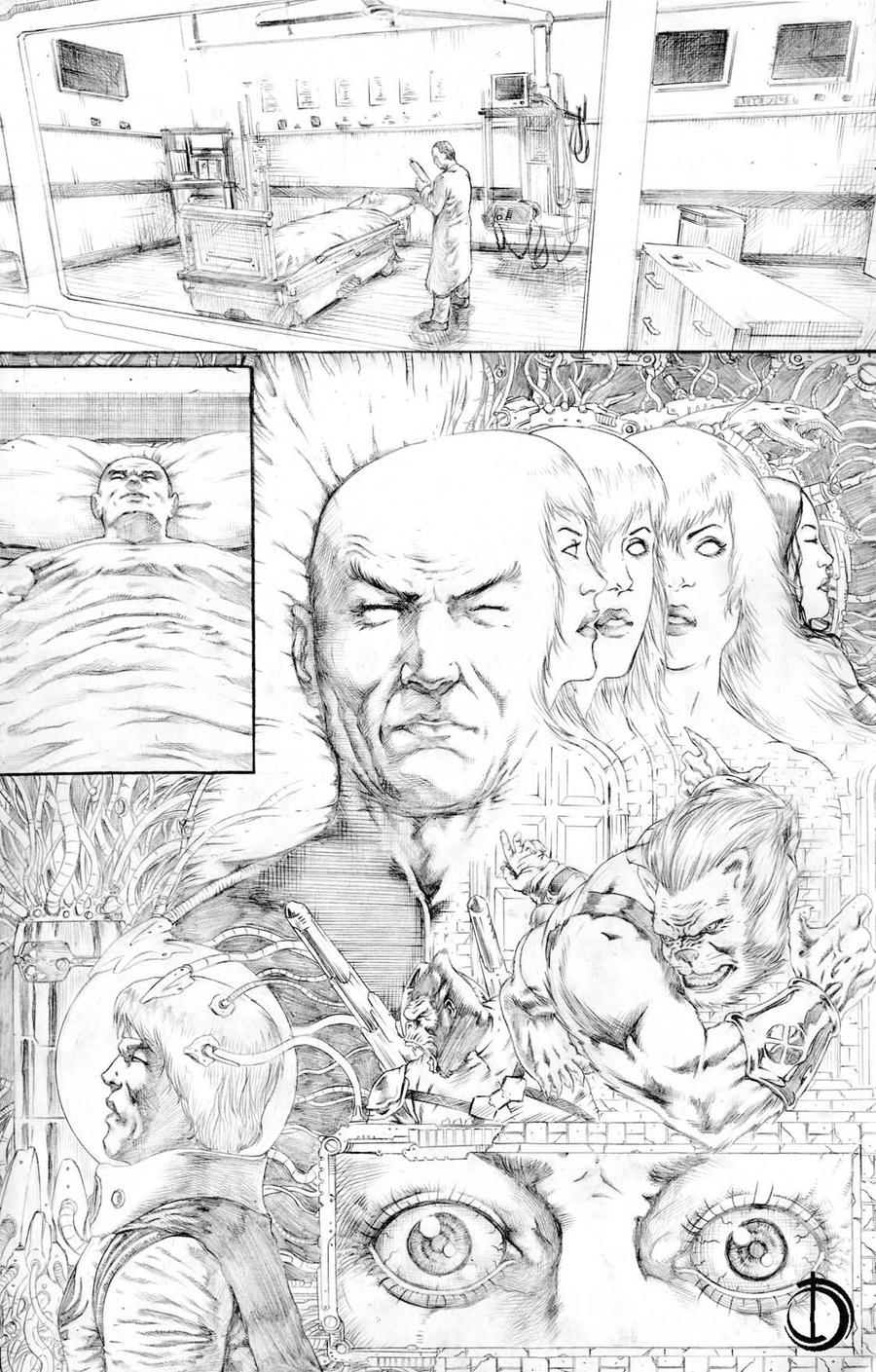 X-Men Vs Atlas 6 by santiagocomics
