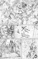 X-Men Vs Atlas 7 by santiagocomics