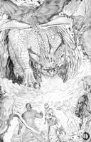 X-Men Vs Atlas 8 by santiagocomics