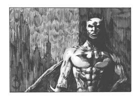 the batman by santiagocomics