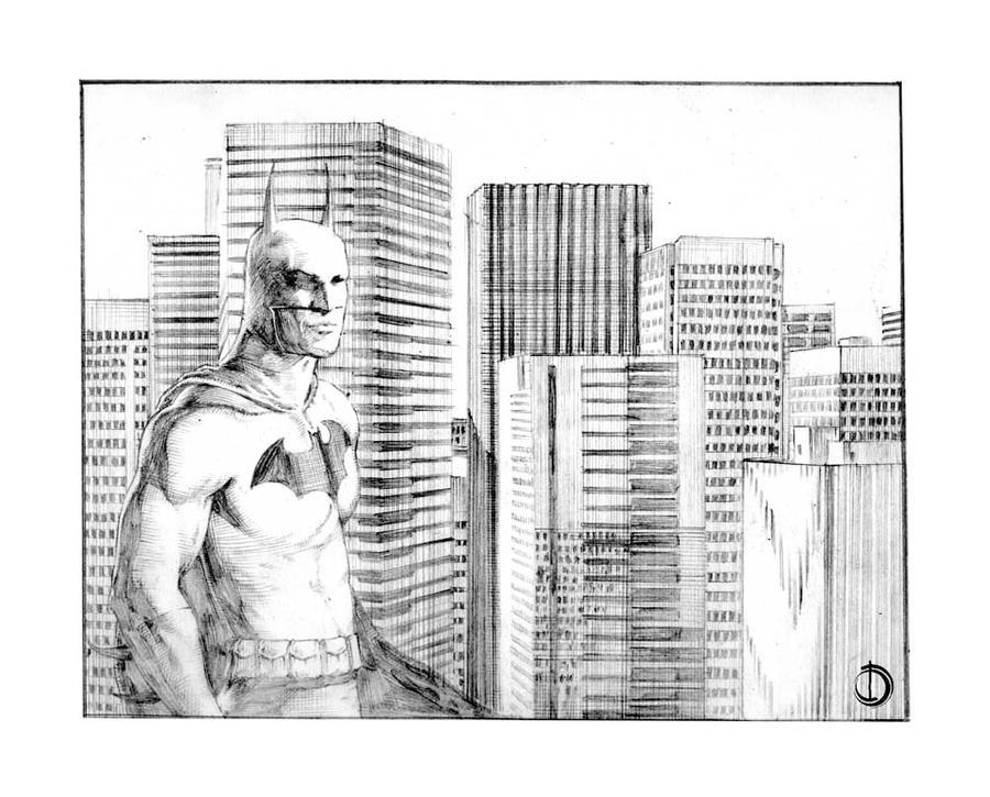 The Batman 1 by santiagocomics