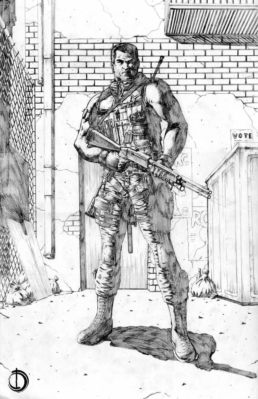Punisher by santiagocomics