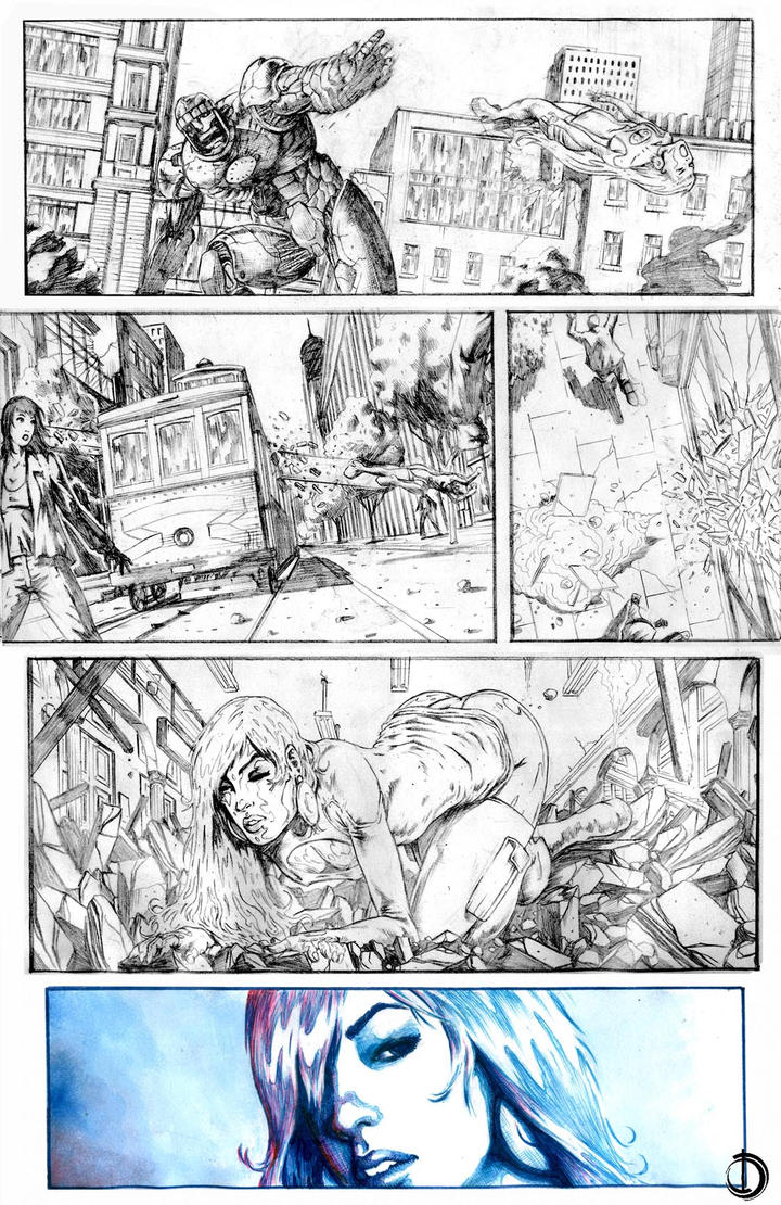 Astonishing x-men page3 by santiagocomics