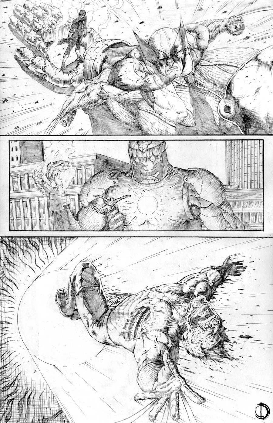 Astonishing x-men page5 by santiagocomics