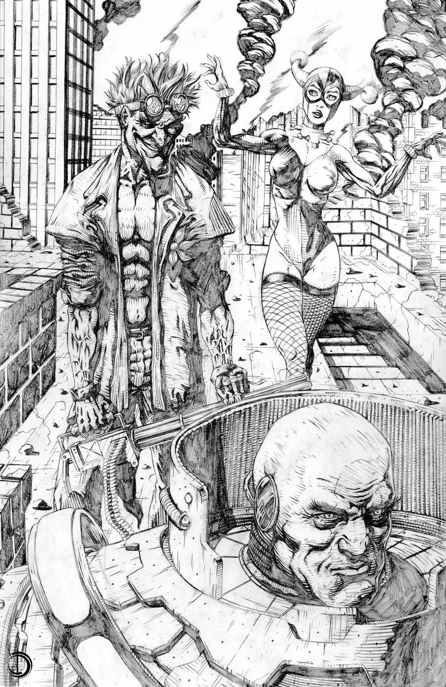 Lex and The  Joker by santiagocomics
