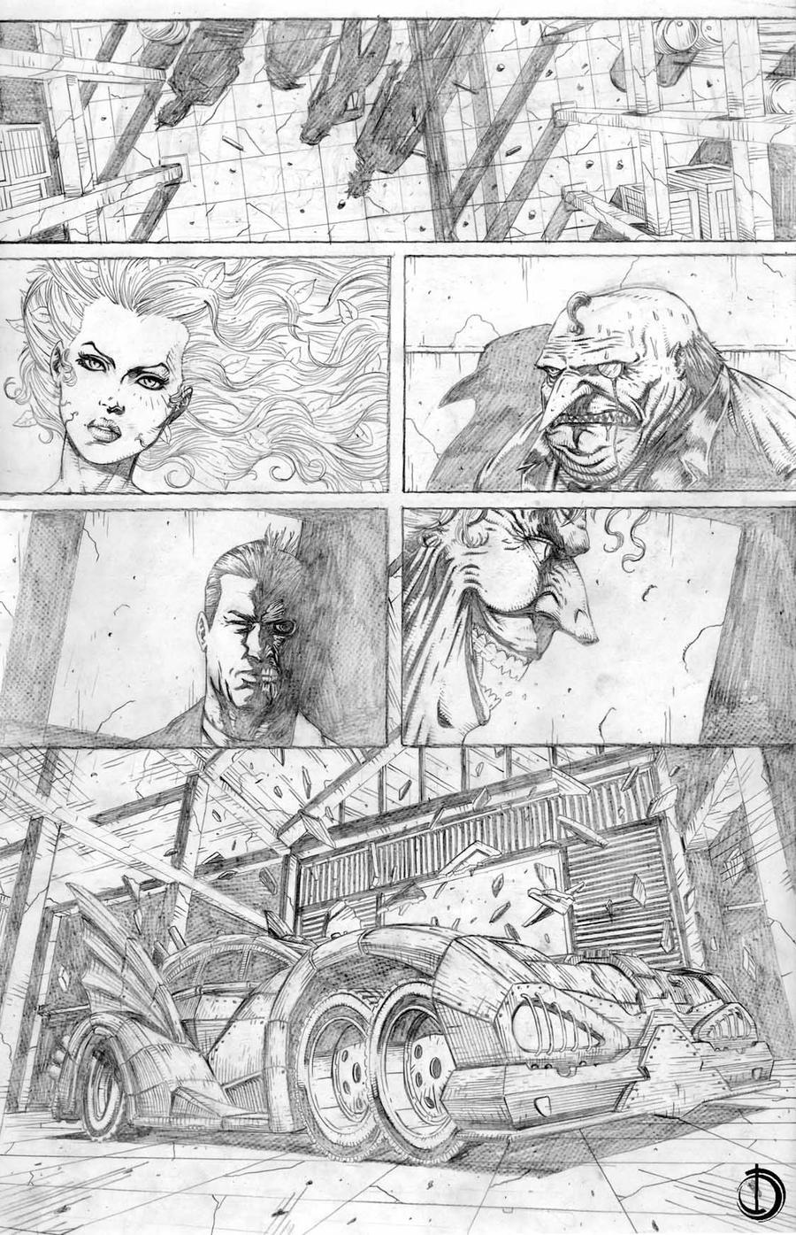 batman page 4 by santiagocomics