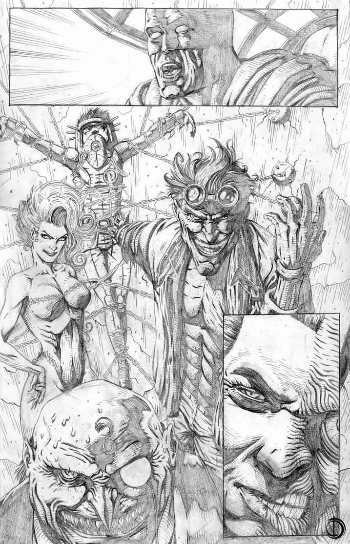batman page 5 by santiagocomics