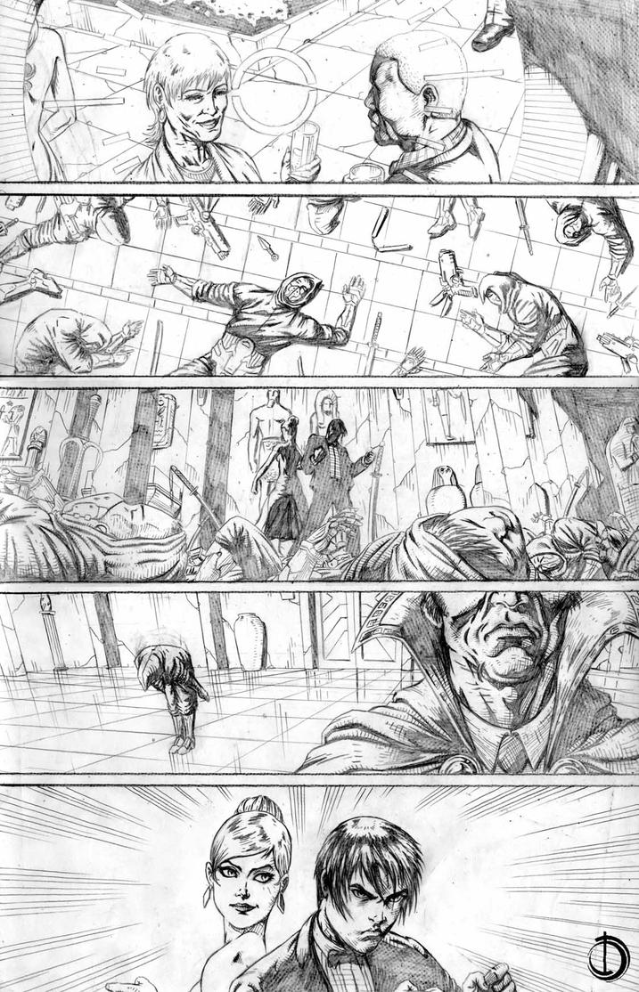 RedRobin Issue10 page1 by santiagocomics