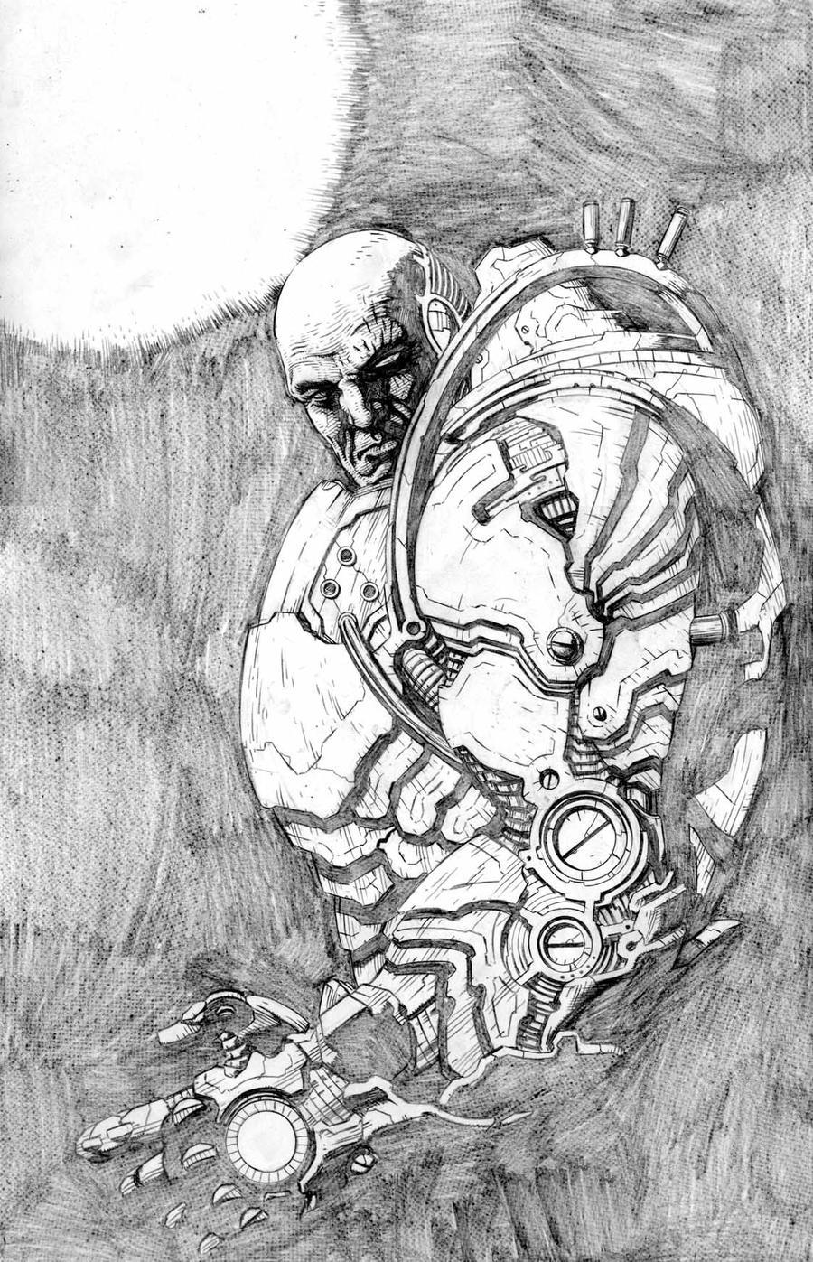 Luthor by santiagocomics