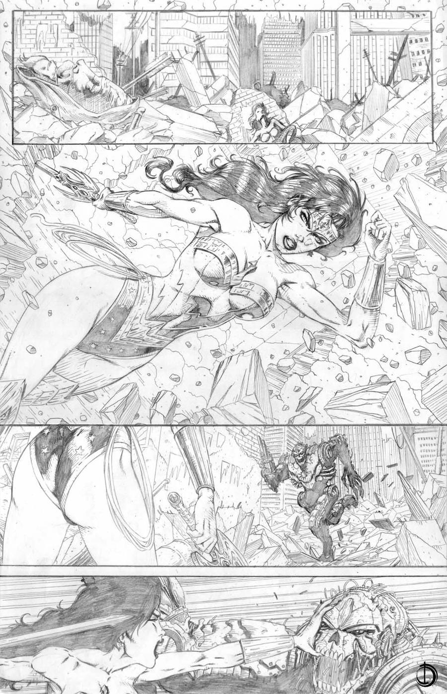 DC Online page 2 by santiagocomics