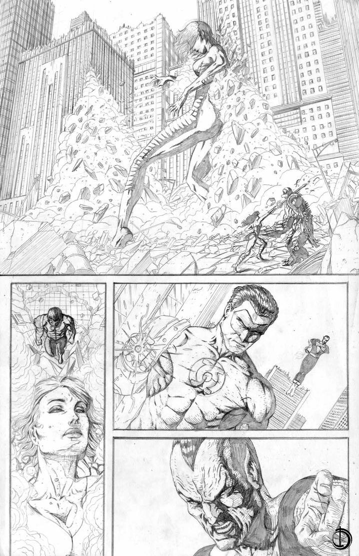 DC Online page 3 by santiagocomics