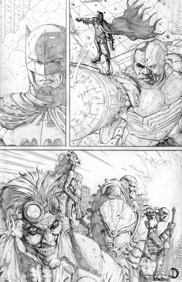 DC Online page 4 by santiagocomics