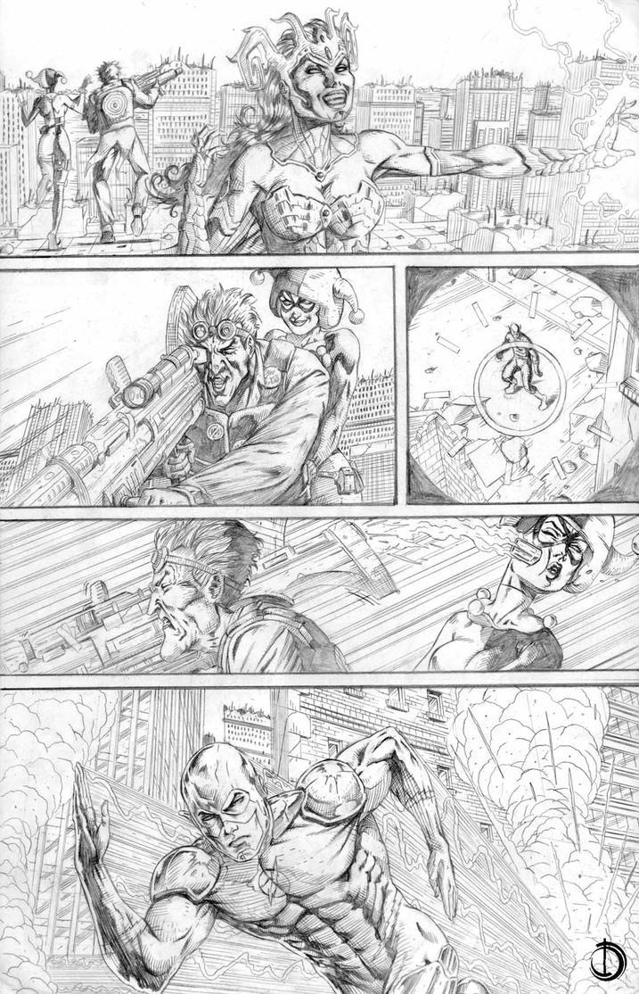DC Online page 5 by santiagocomics