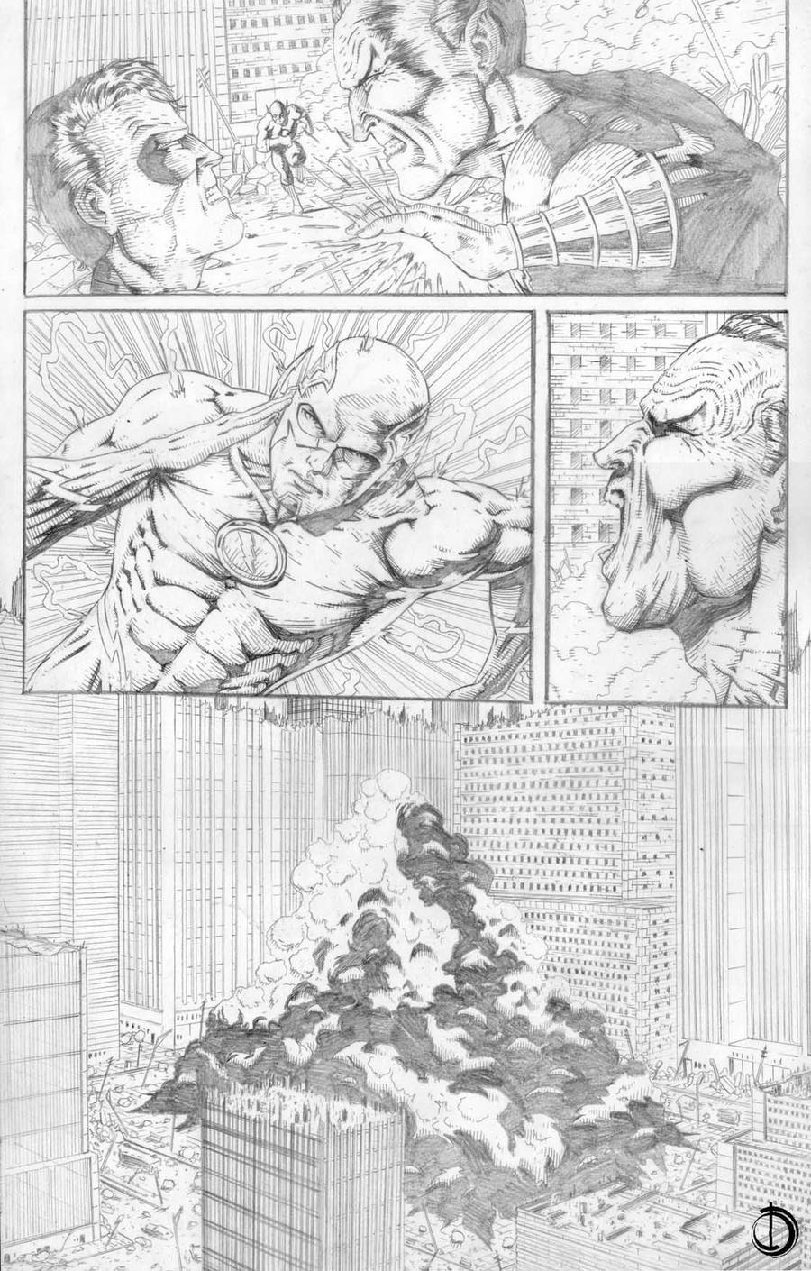 DC Online page 8 by santiagocomics