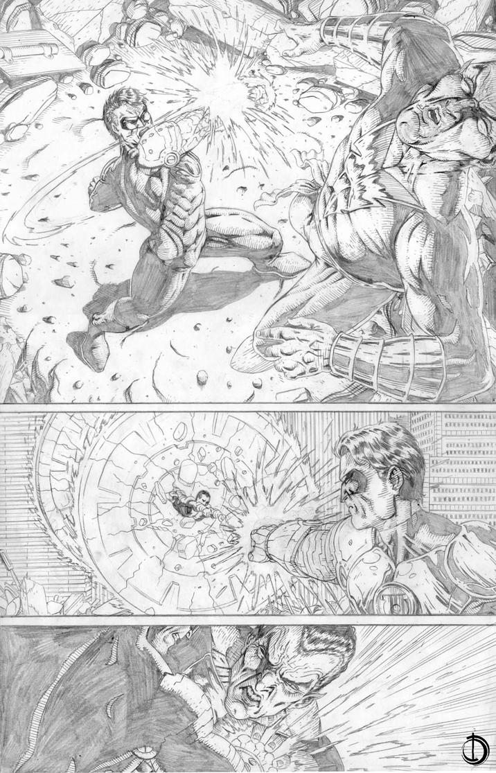 DC Online page 7 variant by santiagocomics