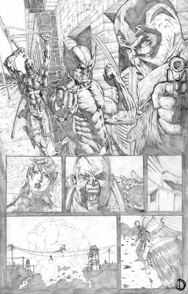 Uncanny X-Force page8 by santiagocomics