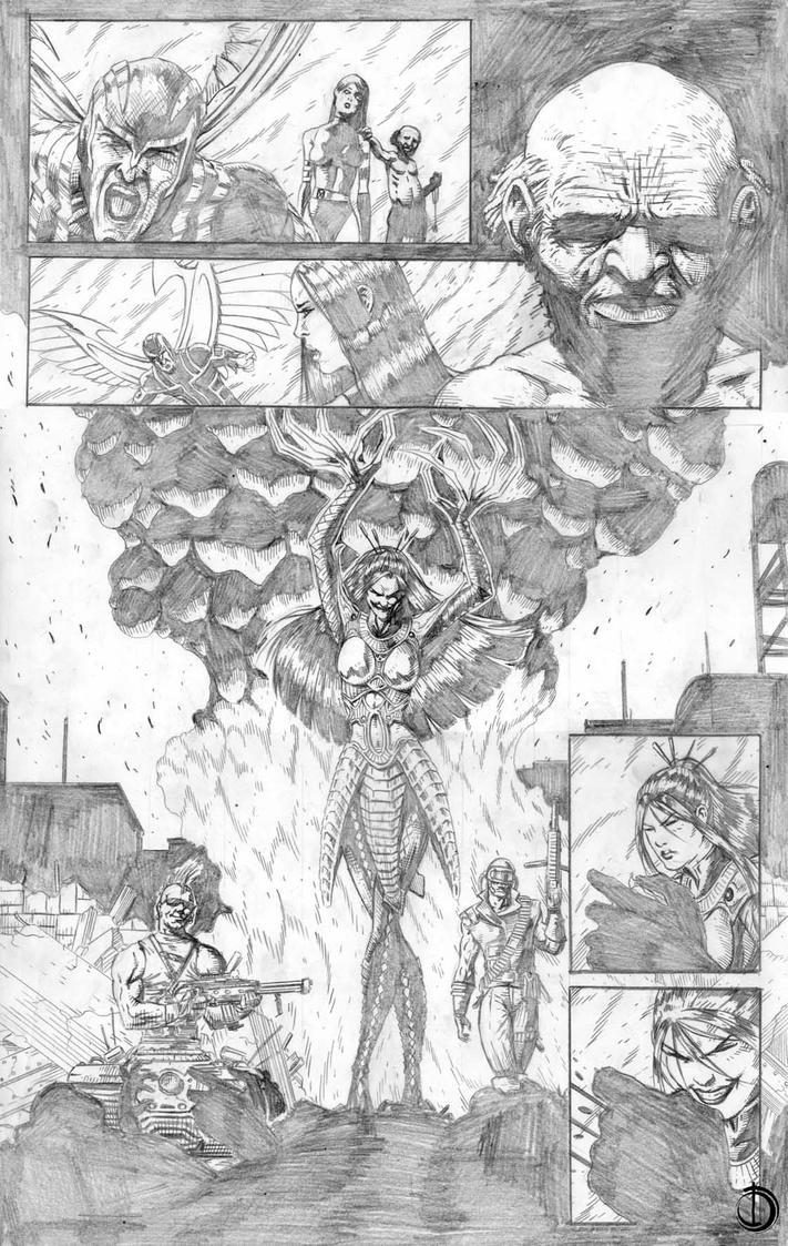 Uncanny X-Force page9 by santiagocomics