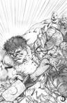 Thor Vs Red Hulk