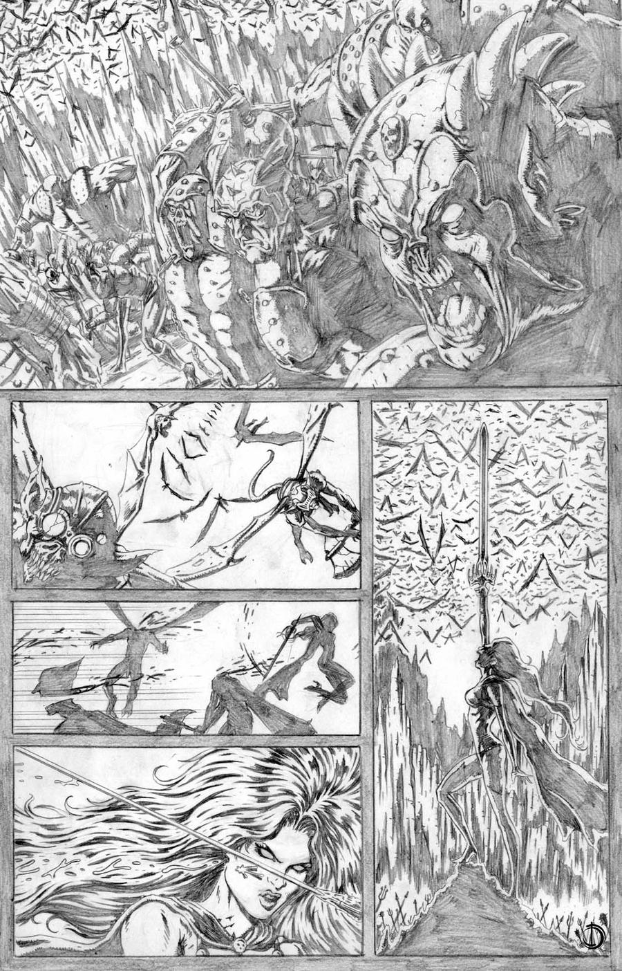 Lady Death page 01 by santiagocomics