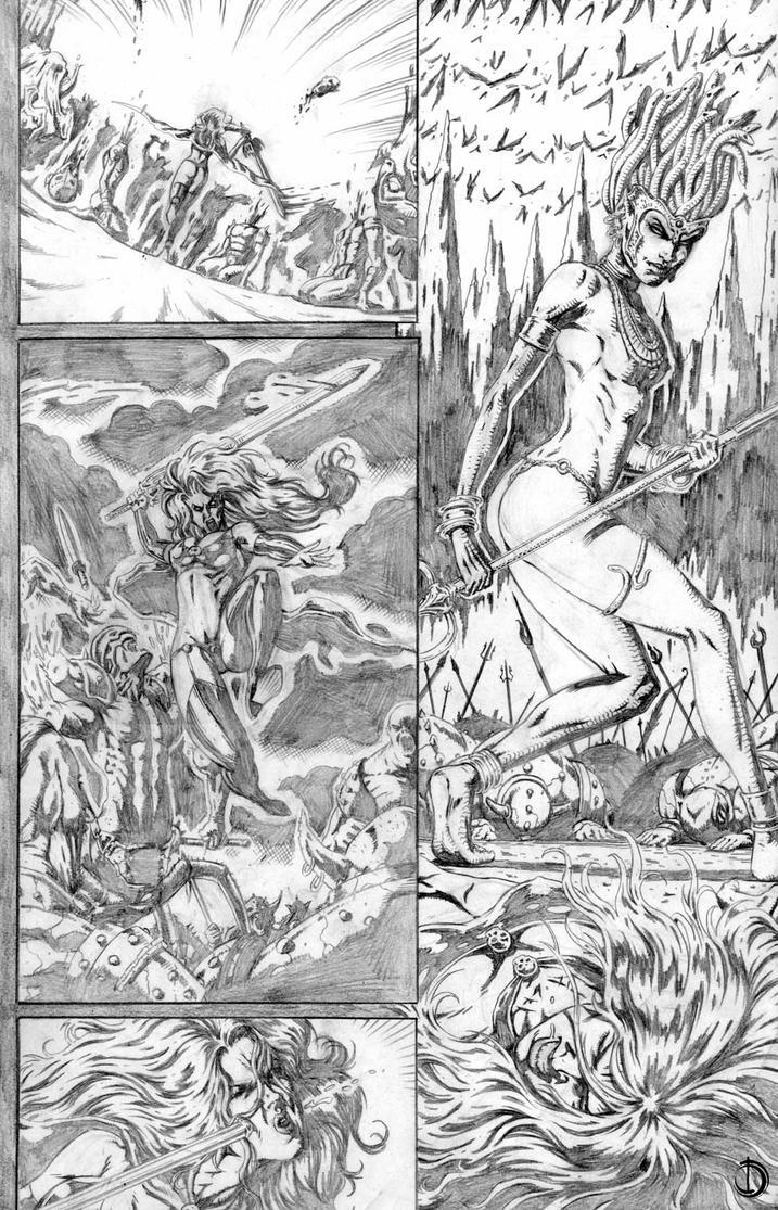 Lady Death page 02 by santiagocomics