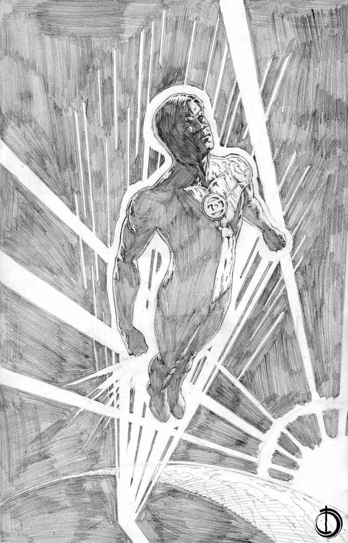 Green Lantern by santiagocomics
